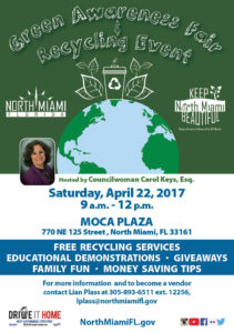 North Miami Earth Day Cleanup and Green Awareness Fair @ see list below | North Miami | Florida | United States