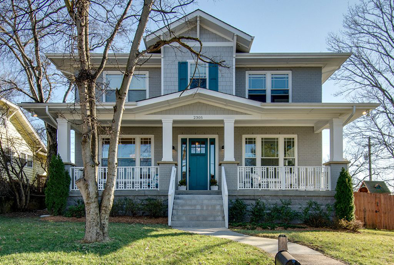 """Greige"" home exteriors A home's exterior color may also have an impact on its sale price. Homes painted in ""greige,"" a mix of light gray and beige, sold for $3,496 more than similar homes painted in a medium brown or with tan stucco."