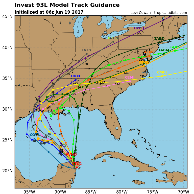 Gulf of Mexico storm may strengthen on way to United States  coast: NHC