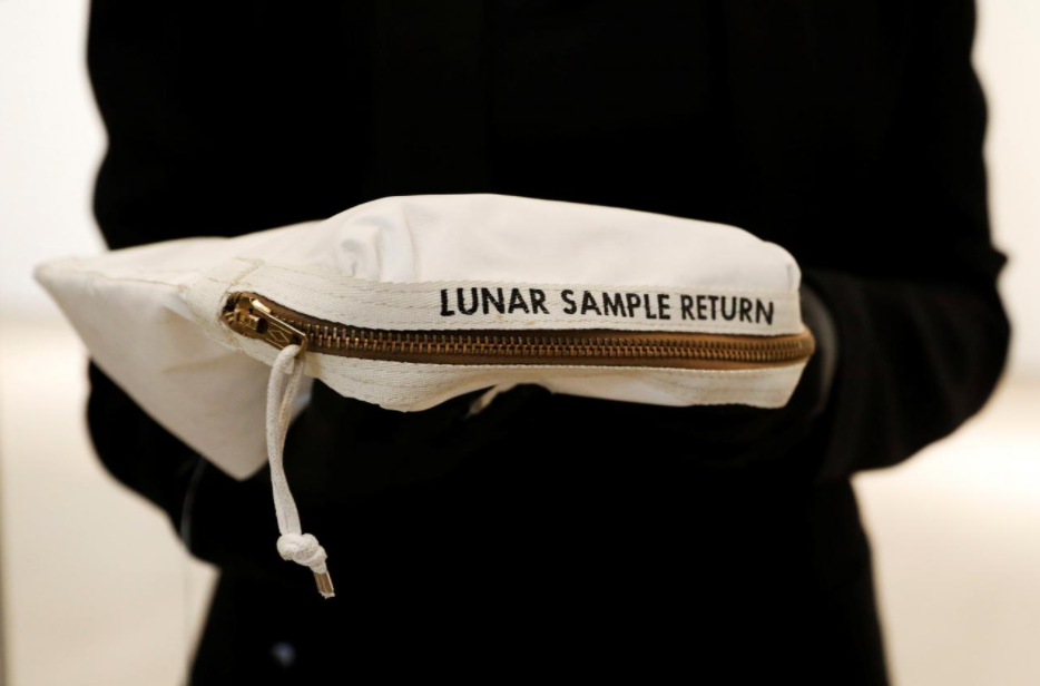 Neil Armstrong Moon Dust Bag for Sale