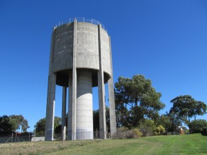 water tower number 6 on the challenge