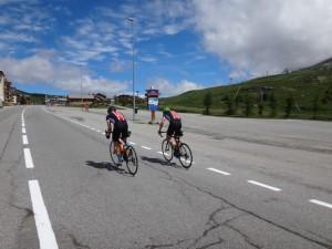 The final straight, Alpe Du
