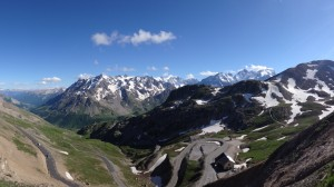 The view, Col du Galibier. Picture courtesy of Ed, procyclingtours.com