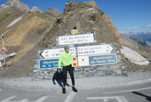 Col du Galibier. Picture courtesy of Ed, procyclingtours.com