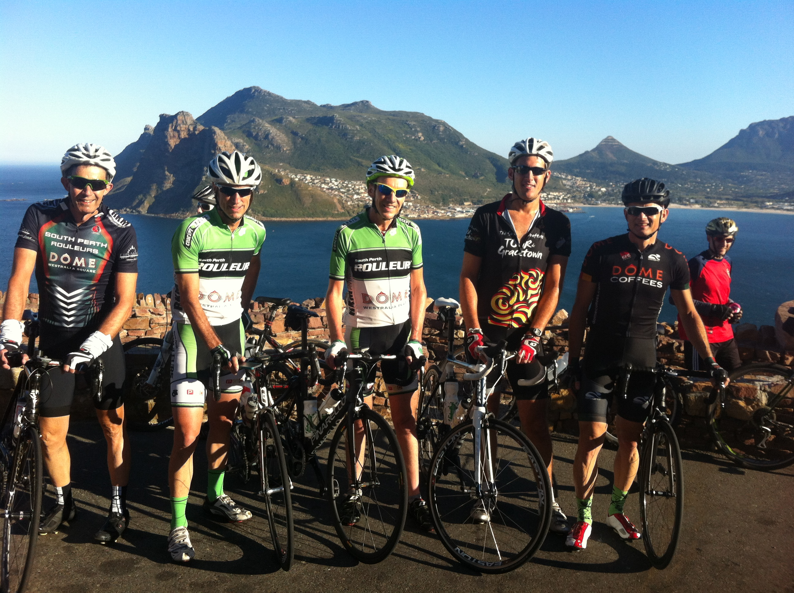Team SPR at Chappies Peak, Cape Town, 28 Feb 2015