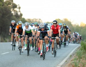 gary coming over red hill in the uwct race