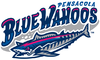 Pensacola Blue Wahoos logo