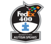 FedEx 400 logo