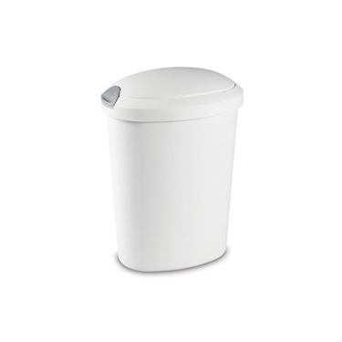 20 Quart Touch Top Trash Can by Sterilite