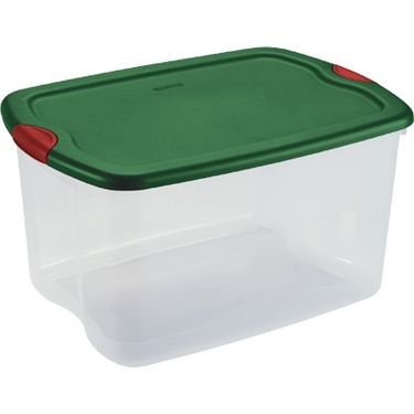 66 Qt Holiday Storage Tote by Sterilite