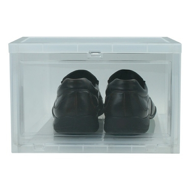 Stackable Drop Front Shoebox by Iris - Large