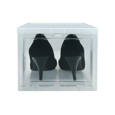 Stackable Drop Front Shoebox by Iris - Small