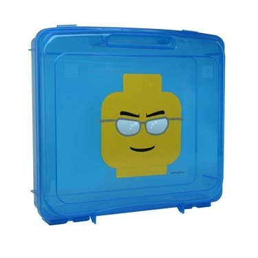 Blue LEGO Project Storage Case by Iris