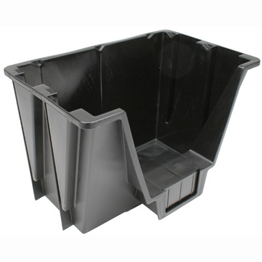 Small Black Storage Bin - IRIS USA