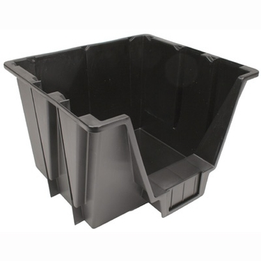 Medium Black Storage Bin - IRIS USA