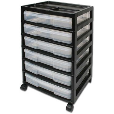 Iris Six Case Scrapbook Chest