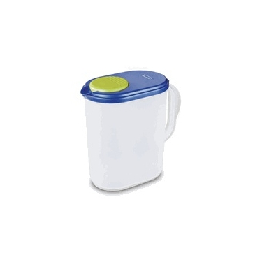 Sterilite Slim Round 1 Gallon Drink Pitcher- Case of 6