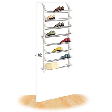 24 Pair Over the Door Shoe Rack