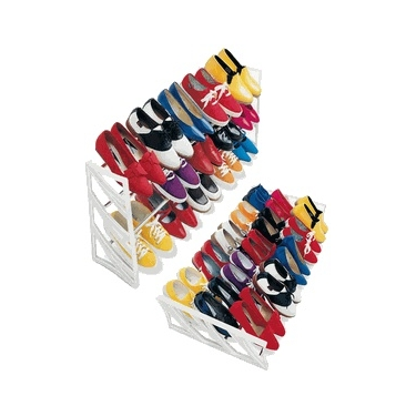 15 Pair Convertible Shoe Rack