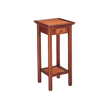 Hazelnut Stand Accent Table-<i>Ground Shipping Only</i>