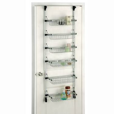 Overdoor 6-Tier Basket Unit by Organize It All