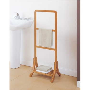 Neu Home Lohas Collection Bamboo Towel Rack by Organize It All (29946)