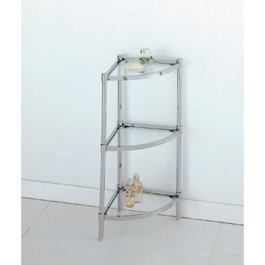 Three Tier Corner Shelf Unit