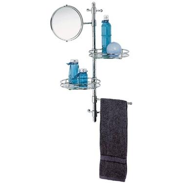 Amazing Evideco Wall Mounted Bath Shelf And Towel Rack Amp Reviews  Wayfair