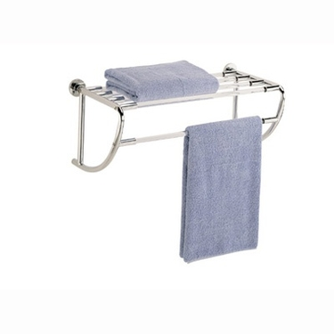 Shelf with Towel Rack by Organize It All