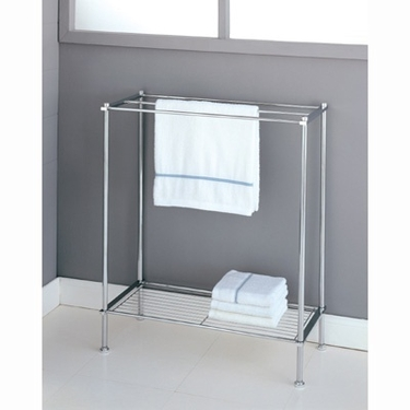 Metro Collection Towel Rack by Organize It All