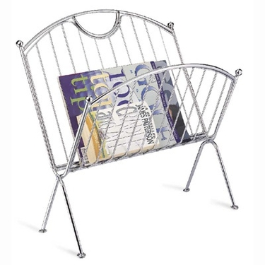Folding Magazine Rack by Organize It All