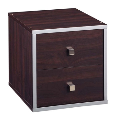 2 Drawer Cube - Quadrant Collection by Organize It All