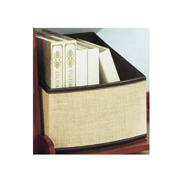 Jute Slant Baskets by Organize It All - Set of 2