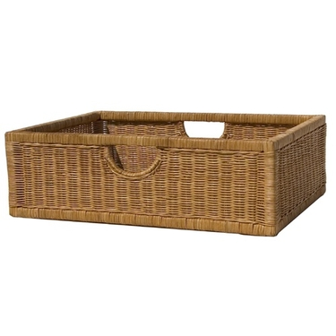 Wicker Night Stand Basket by Organize It All