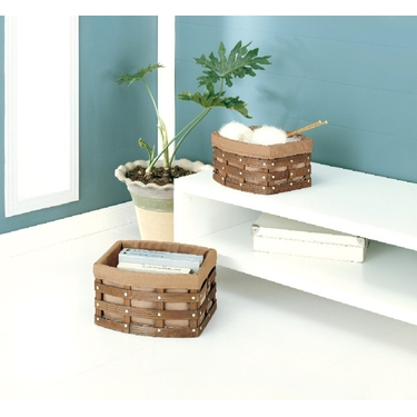 Havana Curved Baskets-Set of Two by Organize It All