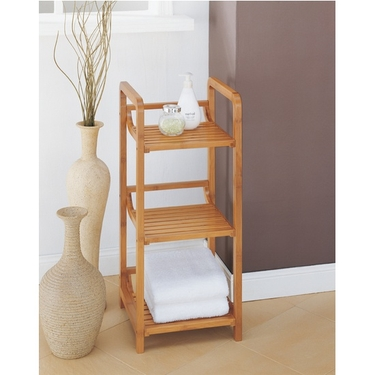 Neu Home Lohas Collection Bamboo 3-Tier Shelf Tower