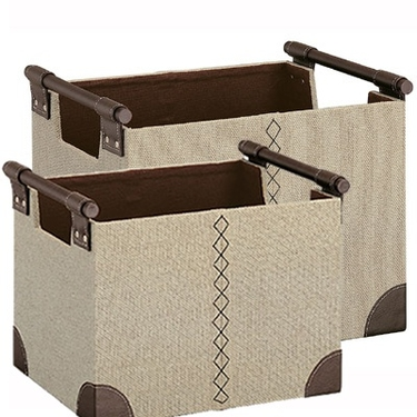 Riviere Collection Baskets - Set of 2 by Organize It All
