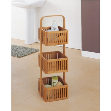 Neu Home Lohas Collection Bamboo Stationary Caddy