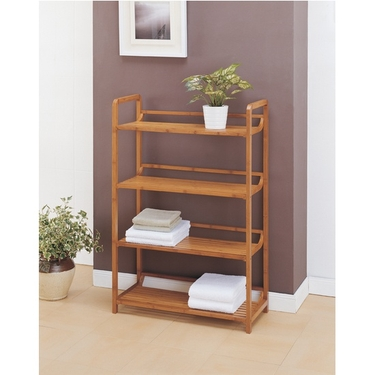 Neu Home Lohas Collection Bamboo 4-Tier Shelf (29944)