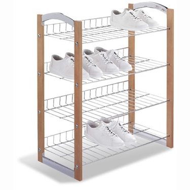 Concord 4-Tier Shoe Shelf by Organize It All