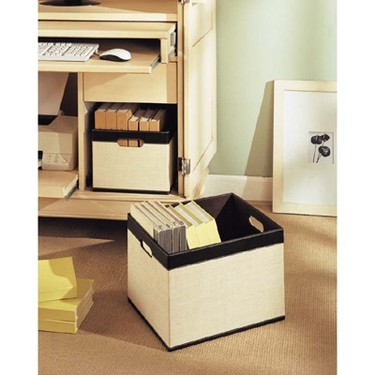 Jute Storage Baskets by Organize It All - Set of 2