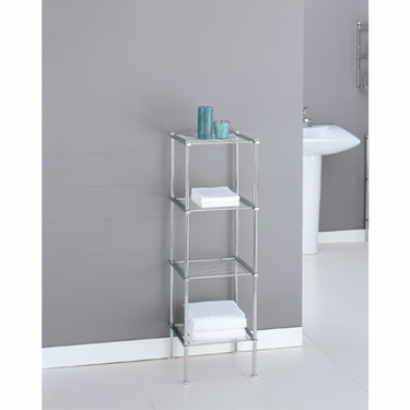 Metro Collection 4-Tier Shelf by Organize It All