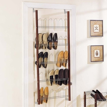 Espresso 15 Pair OTD Shoe Rack by Organize It All