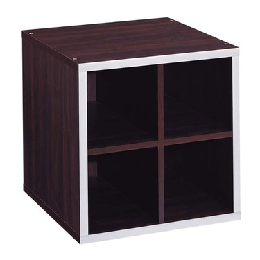 4 Section Storage Cube-Quadrant Collection by Organize It All