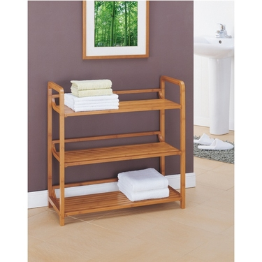 Neu Home Lohas Collection Bamboo 3-Tier Shelf (29943)
