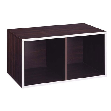 2 Section Double Storage Cube-Quadrant Collection by Organize It All