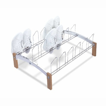 Concord 9 Pair Shoe Rack by Organize It All
