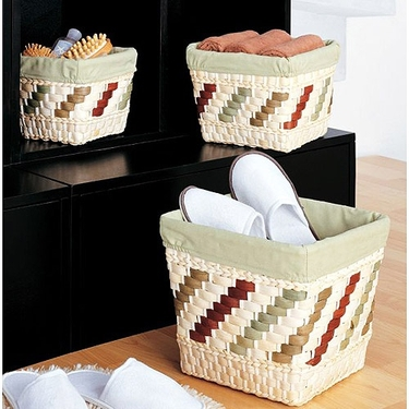 Mulberry Nesting Baskets - Set Of Three by Organize It All