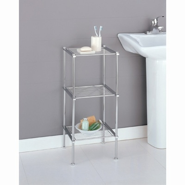 Metro Collection 3-Tier Shelf by Organize It All