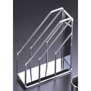 Reflections Chrome Magazine Organizer Holder by Organize It All: 62162